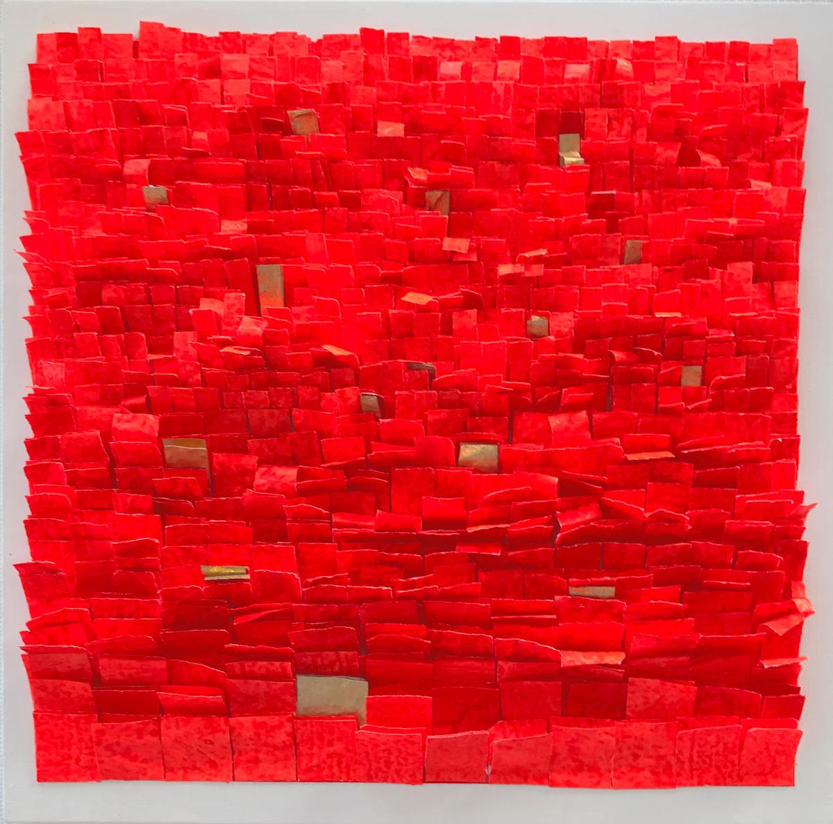 Frieda Martha Papierarbeit, Freude einsammeln, 2017