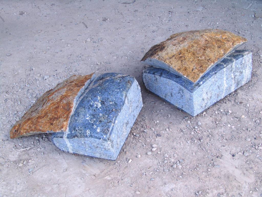 Kubach-Wilmsen Skulpturen, Blaue Steingeschichten, 2013