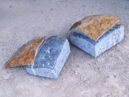 Blaue Steingeschichten