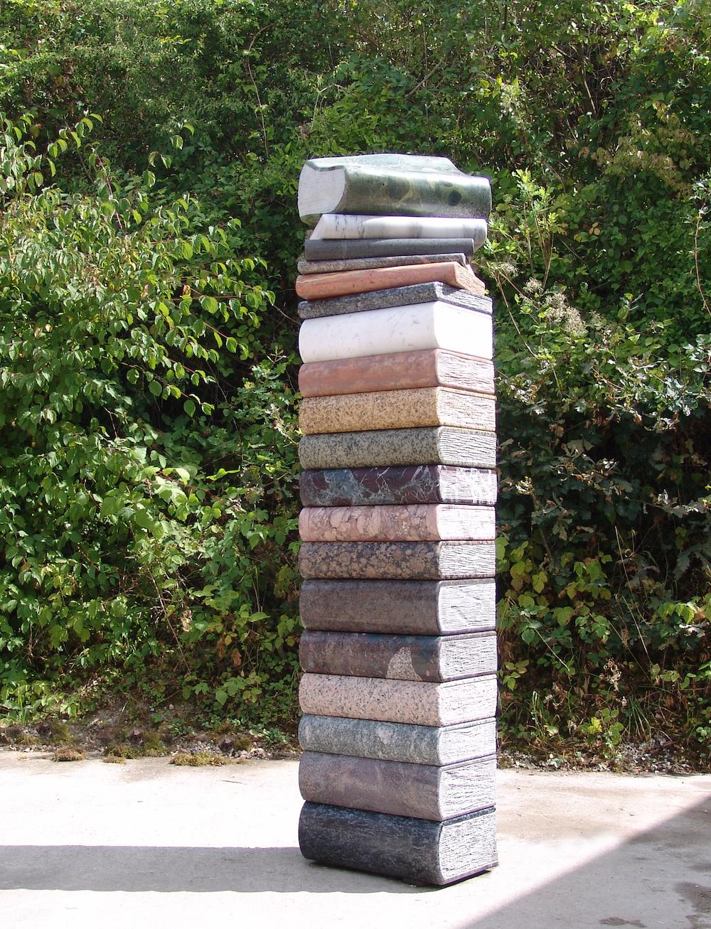 Kubach-Wilmsen Skulpturen, Buchturm 2016-18