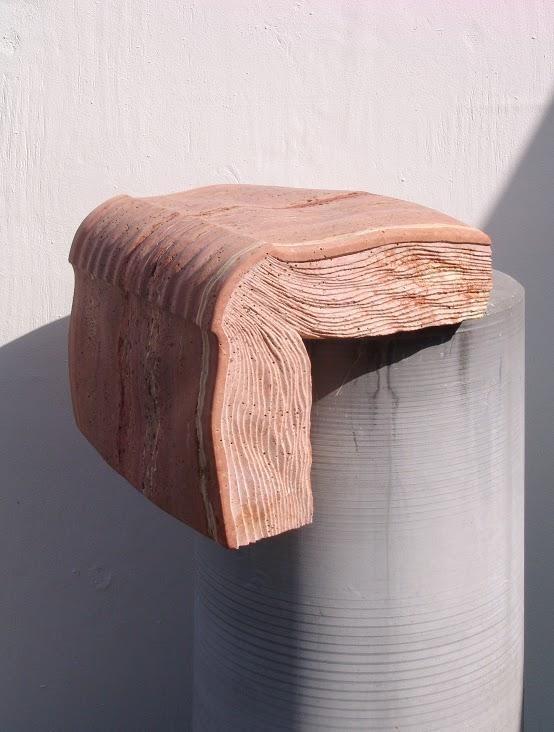 Kubach-Wilmsen Skulpturen, Steinbuch Kapitell, 2005